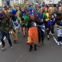 @devothanyambo leading the group at Whitehaven carnival 🙌🏽